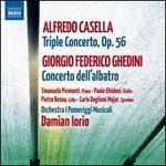 Alfredo Casella: Triple Concerto; Giorgio Federico Ghedini: Concerto dell'albatro