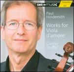 Paul Hindemith: Works for Viola d'Amore