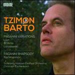 Liszt, Brahms, Lutoslawski: Paganini Variations; Rachmaninov: Paganini Rhapsody