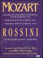 Mozart: Concerto No. 3, Symphonies 29 and 40/Rossini: Overture From Ilsignor Bruschino