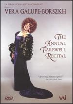 Vera Galupe-Borszkh: The Annual Farewell Recital