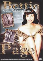 Bettie Page-the Girl in the Leopard Print Bikini
