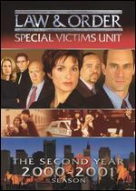 Law & Order: Special Victims Unit-the Second Year 2000-2001 [3 Discs]