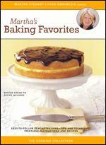 The Martha Stewart Cooking Collection-Martha's Baking Favorites