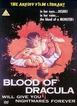 Blood of Dracula [Vhs]