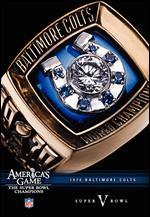 NFL: America's Game - 1970 Baltimore Colts - Super Bowl V -