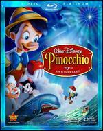 Pinocchio [70th Anniversary] [3 Discs] [Blu-ray/DVD] - Ben Sharpsteen; Bill Roberts; Hamilton Luske; Jack Kinney; Norman Ferguson; T. Hee; Walt Disney; Wilfred Jackson