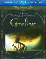 Coraline [2 Discs] [Includes Digital Copy] [Blu-ray/DVD] - Henry Selick