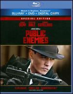 Public Enemies [2 Discs] [With Tech Support for Dummies Trial] [Blu-ray/DVD]