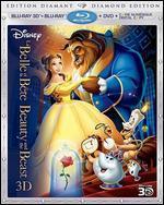 Beauty and the Beast [Diamond Edition] [3D] [Blu-ray/DVD]