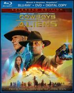 Cowboys & Aliens [Extended Edition] [Rated/Unrated] [2 Discs] [Includes Digital Copy] [Blu-ray/DVD] - Jon Favreau