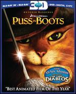 Puss in Boots [Blu-ray/DVD] [Includes Digital Copy] [3D]