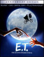 E.T.: The Extra-Terrestrial [Anniversary Edition] [2 Discs] [Includes Digital Copy] [Blu-ray/DVD]