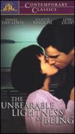 The Unbearable Lightness of Being [Vhs]