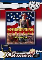 No Substitute for Victory [Vhs]