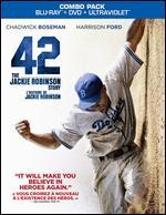 42 [2 Discs] [Includes Digital Copy] [UltraViolet] [Blu-ray/DVD]