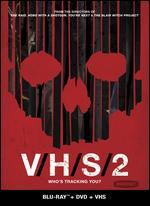 V/H/S/2 [2 Discs] [Blu-ray/DVD] [Includes VHS]