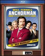 "Anchorman: The Legend of Ron Burgundy [The ""Rich Mahogany"" Edition] [2 Discs] [Blu-ray] - Adam McKay"