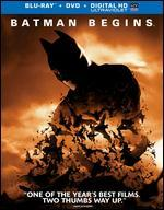 Batman Begins [2 Discs] [Includes Digital Copy] [UltraViolet] [Blu-ray] - Christopher Nolan