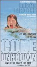 Code Unknown [Vhs]