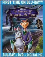 The Adventures of Ichabod and Mr. Toad [2 Discs] [Blu-ray/DVD]