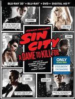 Sin City a Dame to Kill for Blu-Ray + Dvd + Blu Ray 3d + Digital Copy Steelbook