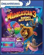 Madagascar 3: Europe's Most Wanted [Blu-ray] [Only @ Best Buy] [Movie Money]