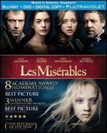 Les Miserables [Blu-ray/DVD] [With Pitch Perfect 2 Movie Cash]