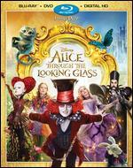 Alice Through the Looking Glass [Includes Digital Copy] [Blu-ray/DVD]
