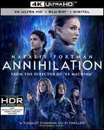Annihilation 4k Uhd Blu-Ray + Blu-Ray + Digital Hd