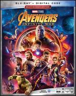 Avengers Infinity War (Blu Ray Movie) Marvel Studios New + Digital