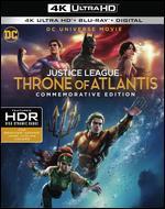 DCU Justice League: Throne of Atlantis [Commemorative Edition] [4K Ultra HD Blu-ray/Blu-ray]