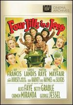 Four Jills in a Jeep [Vhs]
