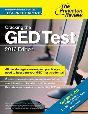 Cracking the GED Test with 2 Practice Exams - Princeton Review