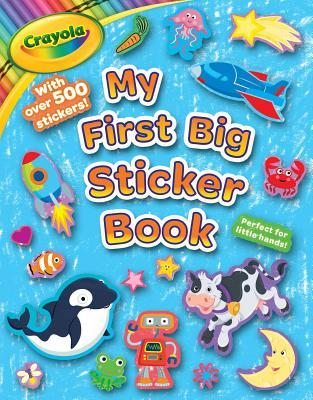 Crayola My First Big Sticker Book - Buzzpop