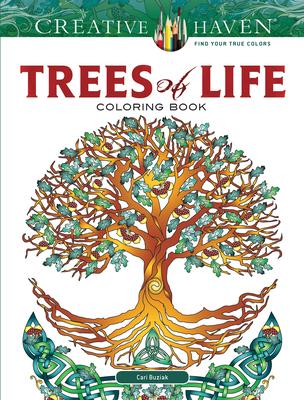 Creative Haven Trees of Life Coloring Book - Buziak, Cari