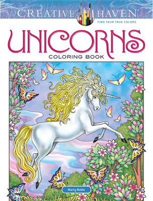 Creative Haven Unicorns Coloring Book - Noble, Marty