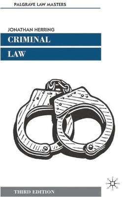 Criminal Law - Cremona, Marise, and Herring, Jonathan