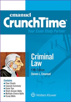 Criminal Law - Emanuel, Steven L, J.D.