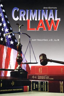 Criminal Law - Kaci, Judy Hails, and Hails Kaci, Judy