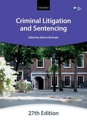 Criminal Litigation and Sentencing - The City Law School