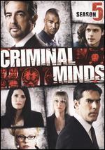 Criminal Minds: Season 5 [6 Discs]