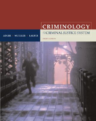 """Criminology with Free Power Web and Free """"Making the Grade"""" Student CD-ROM - Adler, Freda, and Mueller, Gerhard O W, and Laufer, William S"""
