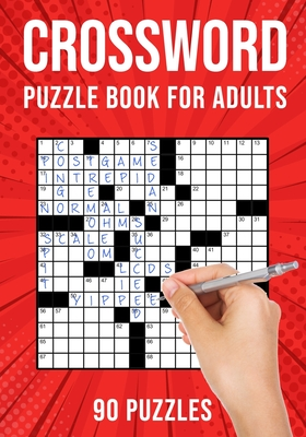 Crossword Puzzle Books for Adults: Cross Words Activity Puzzlebook - 90 Puzzles (US Version) - Publishing, Puzzle King