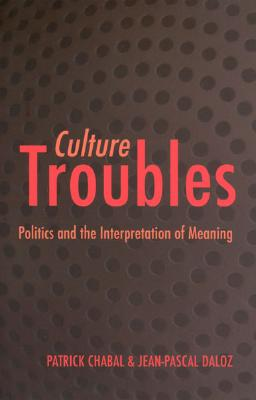 Culture Troubles: Politics and the Interpretation of Meaning - Chabal, Patrick, Professor, and Daloz, Jean-Pascal