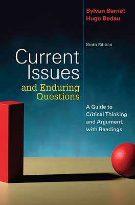 9780312547325 current issues and enduring questions a guide to current issues and enduring questions a guide to critical thinking and argument with readings fandeluxe Image collections