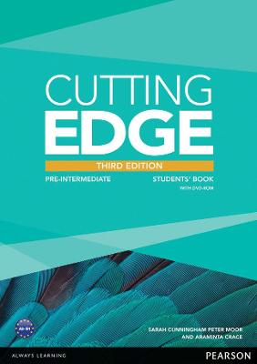 Cutting Edge 3rd Edition Pre-Intermediate Students' Book and DVD Pack - Crace, Araminta, and Cunningham, Sarah, and Moor, Peter