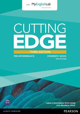 Cutting Edge 3rd Edition Pre-Intermediate Students' Book with DVD and MyEnglishLab Pack - Crace, Araminta, and Cunningham, Sarah, and Moor, Peter