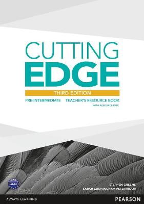 Cutting Edge 3rd Edition Pre-Intermediate Teacher's Book and Teacher's Resource Disk Pack - Greene, Stephen, and Cunningham, Sarah, and Moor, Peter