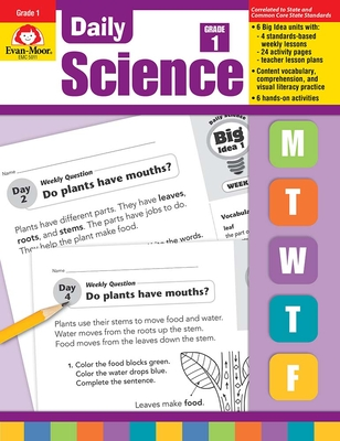 Daily Science Grade 1 - Evan-Moor Educational Publishers